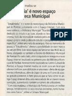 """""""Estudimedia"""" é  novo espaço na Biblioteca Municipal"""