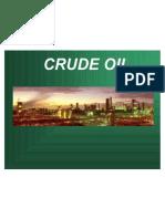 Crude Oil Ppt