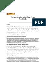 Constitution of the SSJC