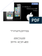 Tarifs iPhone