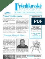 Tešedíkovské noviny - 2011 december, slovenská verzia
