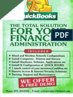 QUICKBOOKS FINANCIAL SOLUTION