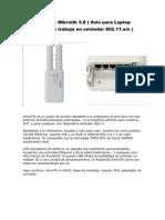 Proformas - Omnitik , Rb750 + Tplink 5110g