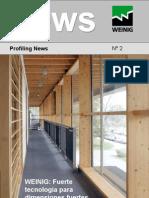 Nuevos productos para perfilar Weinig Group ES