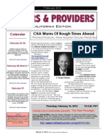 Payers & Providers California Edition – Issue of February 9, 2012