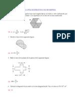 Ejercicios de geometría