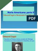 A Linguística Antropológica Norte Americana 2