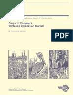 ACOE Wetland Delineation Manual (1987)