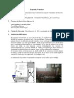 Propuesta de Proyecto Instrumentacion Industrial