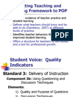 Teaching and Learning Framework Power Point