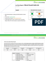 Valuation Proof Maruti Suzuki Company Pulse Report
