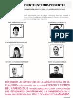 Elecciones a Claustro 2008 - Programa SPEP