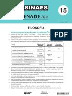 FILOSOFIA - Enade 2011