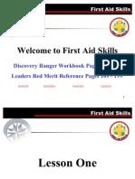 First Aid Skills Revised Jun06