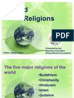 World Religions Powerpoint