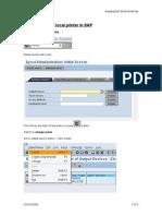 Local Printer in SAP 20091002