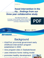 Findings from our KidsFirst Evaluation