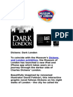Discover Dickens Dark London iPad and iPhone App