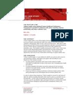h17 - Cognos ROI Case Study - Trillium Health Center