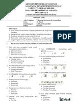 Latihan Soal SD Kelas 3