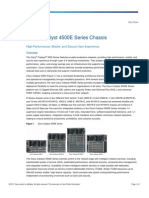 Cisco4500E Product Data Sheet