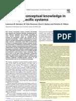 Barsalou Et Al TICS 2003 Grounding Knowledge