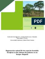 Regeneracion de especies forestales forrajeras en un bosque chaqueño