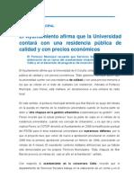 09-02-12 ACTIVIDAD MUNICIPAL_Residencia Universitaria