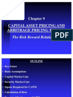 Chapter 9 Capital Asset Pricing & Artge Prng Thry