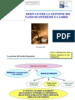 20070329 Strumenti Derivati Per La Gestione Dei Rischi Di Tasso Di Interesse e Cambio