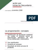 Programacivn en Sec Und Aria Fernando Lvpez