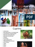 Rolul Biologic Al Metalelor