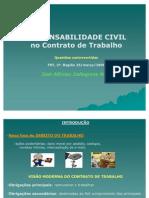 palestra TRT2 RESPONSABILIDADE CIVIL HONORÁRIOS ETC