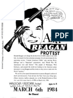 Rock Against Reagan 1984