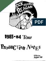 Rock Aganist Reagan guide 83-84
