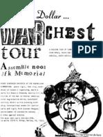 War Chest Tour Dallas 84