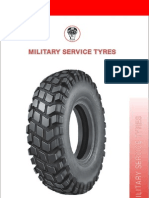 Military Service Tyres