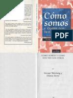 George Weinberg - Como Somos y Como Nos Ven Los Otros
