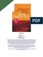 Analisis Dan Desain Objek Dgn Visual FoxPro 8.0