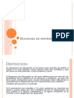 Diagramas de Dispersion