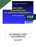 Presentation ISO 22000
