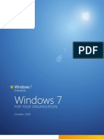 Windows 7 for Your Organization