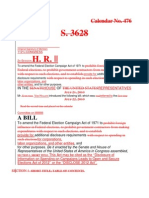 Redline of 2010 and 2012 DISCLOSE Act