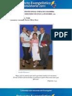 Informe Misionero a Diciembre 2011