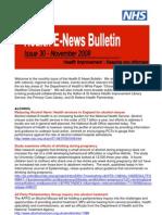 Health E-news November 08 Bulletin