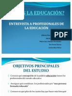 ENTREVISTA EDUCACION (2ºA Primaria) (1)