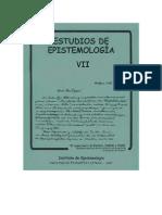 Estrella y Navarro La función del medio en los cambios orgánicos Revista epistemología 7