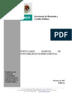 Postulados Basicos de ad Gubernamental