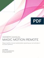 LG Magic Motion Remote