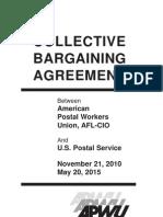 APWU Contract 2010-2015